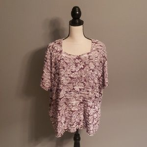 Alfred Dunner Top Size 3X